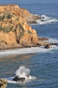 Palos Verdes Penninsula cliff