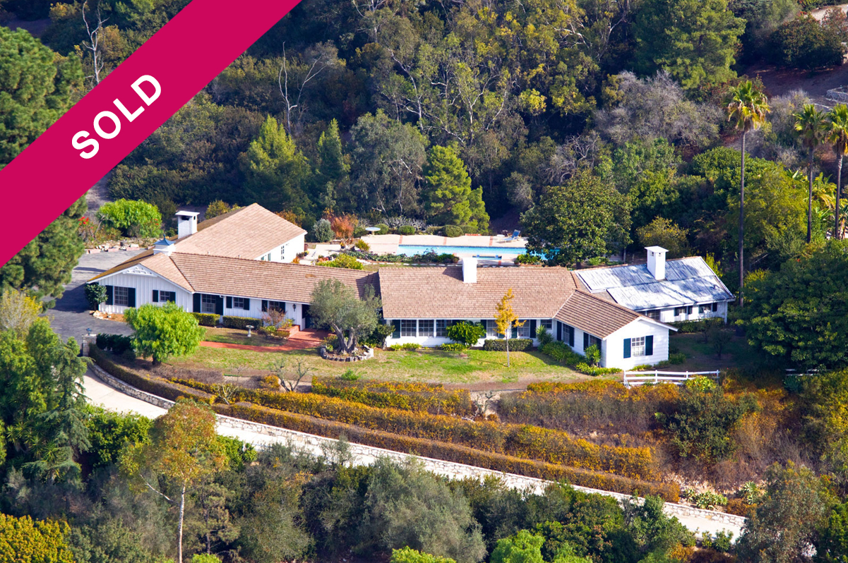 7 Crest Road West Rolling Hills CA home is sold!